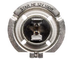 Foco halogeno STAR - Audi A4 4 cil - 1.8L 1997-2014 - Intensidad 100 Watts, Juego 1 Piezas, Voltaje 12 Voltios, Color Transparente , Soquet H7