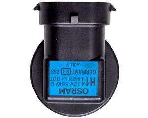 Foco halogeno OSRAM - MB Mercedes Benz E Series 8 cil - 5.5L 2003-2009 - Intensidad 55 Watts, Juego 1 Piezas, Voltaje 12 Voltios, Soquet H11 , Color Transparente