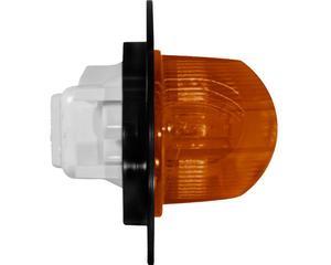 Plafon sellado TRAKTOLAMP - Altura 58 Milimetros, Fondo 70 Milimetros, Longitud 165 Milimetros, Voltaje 12 Voltios, Lado Posicion Lateral , Color Mica Ambar
